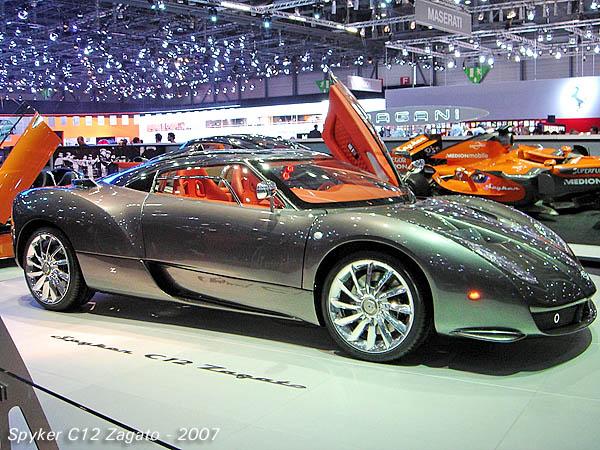 2007 Spyker C12 Zagato side