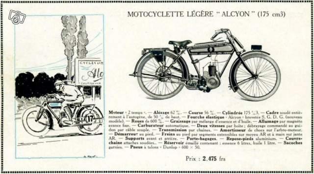 alcyon 175cc