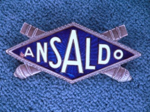 ANSALDO radiator emblem badge stemma