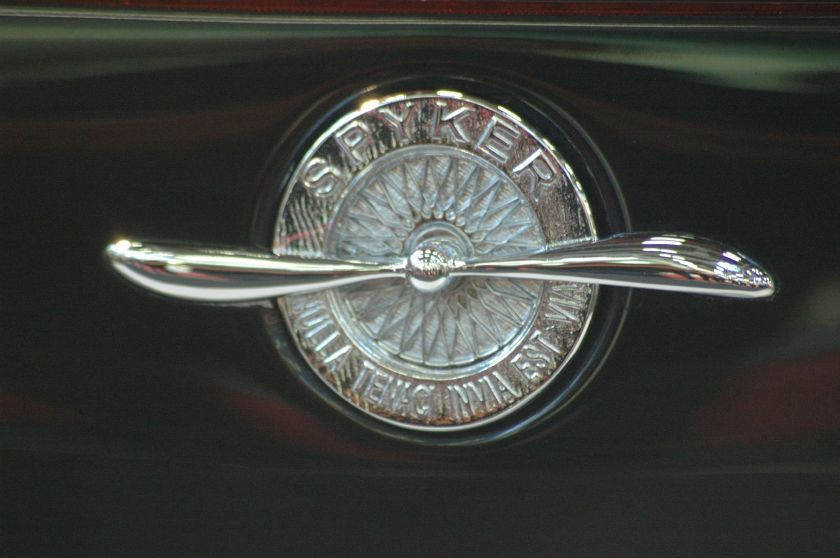 embleem Spyker