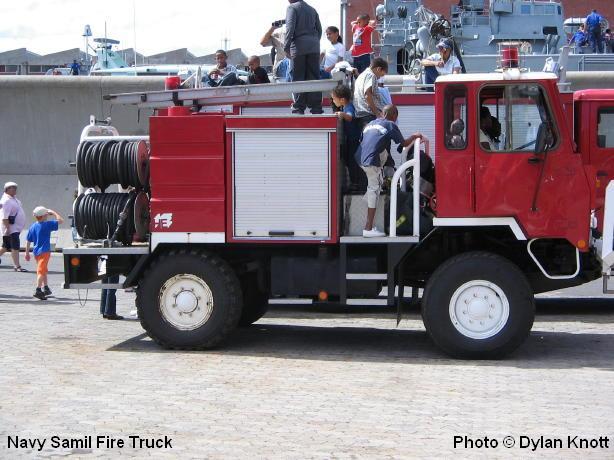 SA Navy Samil 20 Firetruck