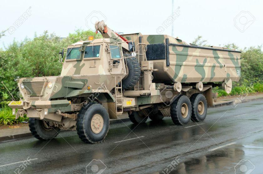 Samil 100 Kwevoel Armoured Truck
