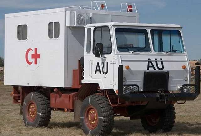 Samil 20 truck-mounted ambulances for South African Medical Health Services