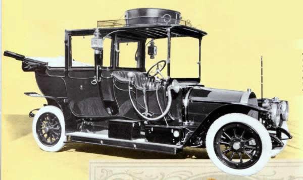 Spijker Eerste auto Koningin Spijker