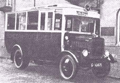 Spyker C2 bus