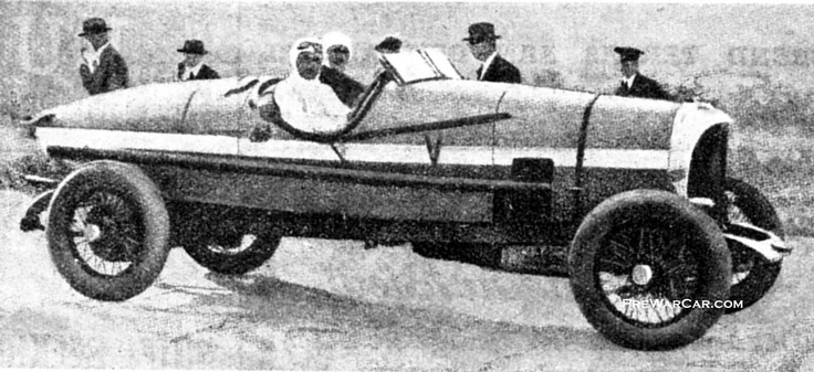 Spyker C4, driven by Selwyn Francis Edge