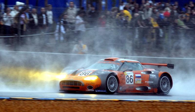 Spyker C8 Spyder GT2R bij de 24 uur van Le Mans, 2007