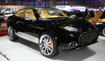 Spyker D12 Peking-to-Paris.