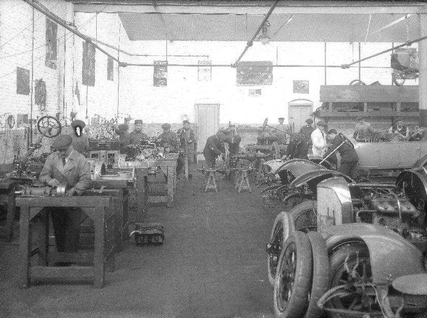 Spyker Garage nl-zwhco 464.2 1224