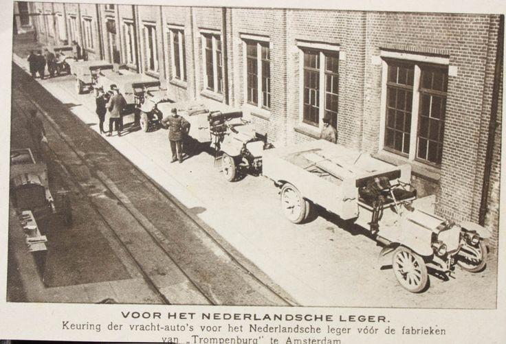 Spykers voor het Nederlandsche Leger
