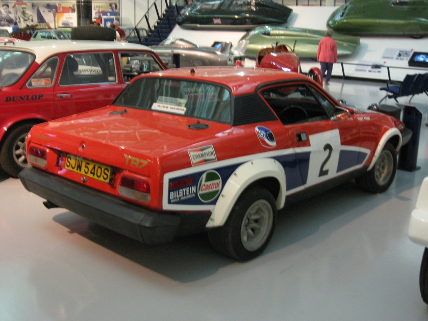 Triumph Tr7 v8 rally car