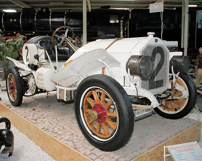 1908 American La France Funkenblitz