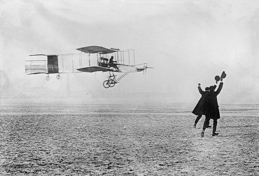 1908 januari Voisin-Farman Doppeldecker I Grand-prix dÁviation