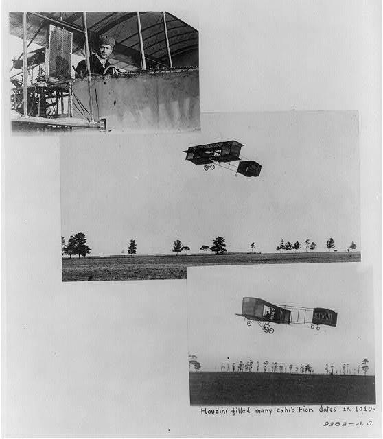 1910 Avion Voisin-houdini