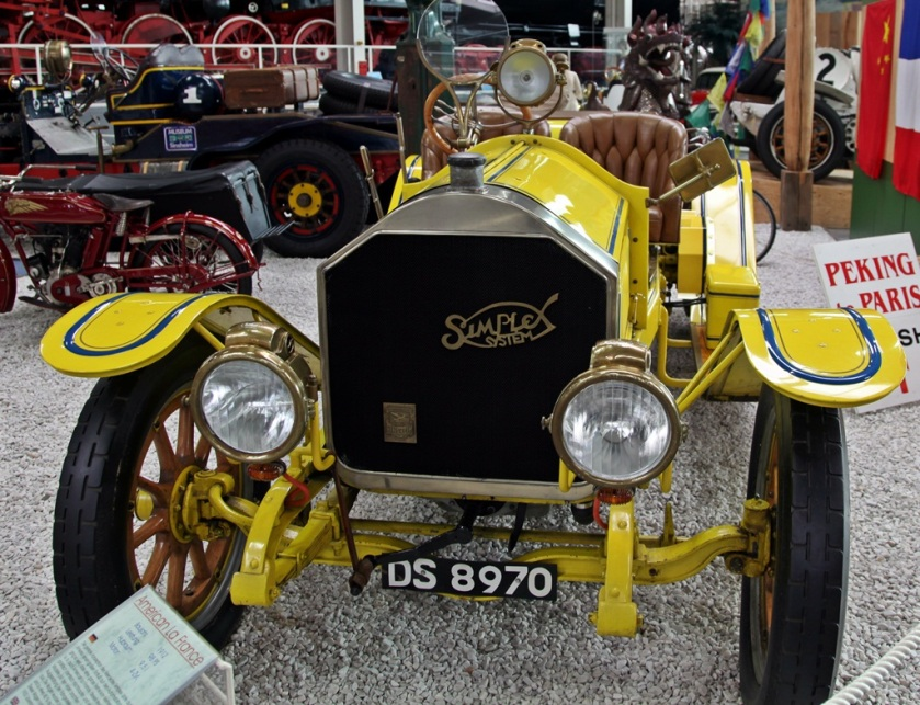 1912 American LaFrance Simplex 9.5l 4cyl. touring car (98PS)