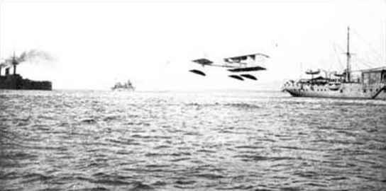 1912 Canard Avion Voisin June1912 La Foudre de la Marine Francaise