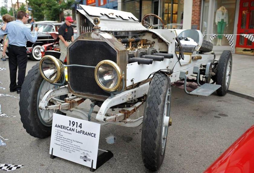1914 American LaFrance Roadster