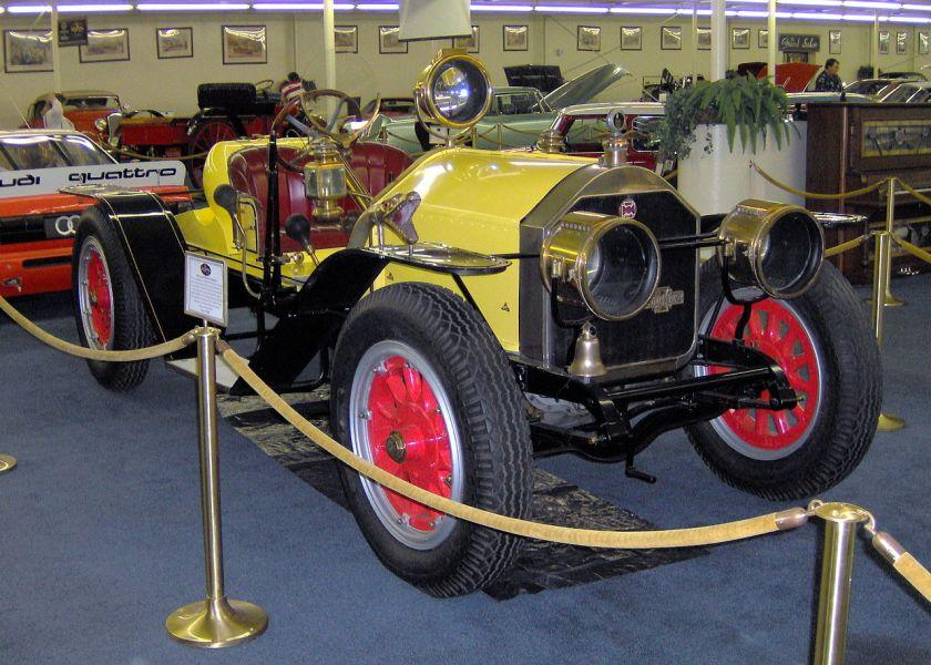 1916 American LaFrance Speedster automobile