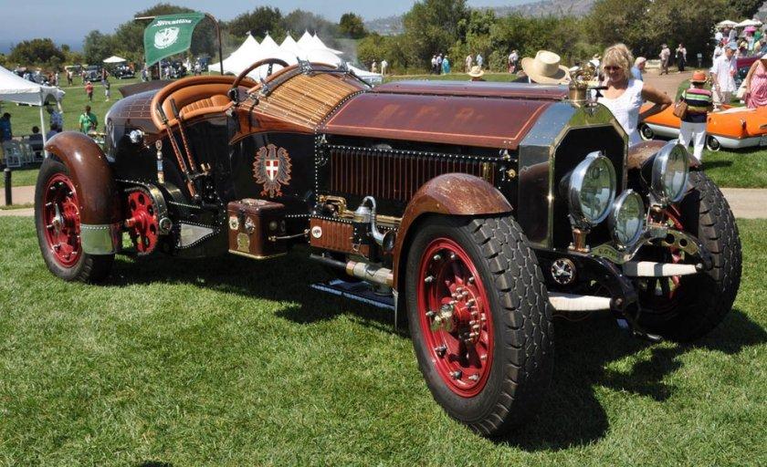 1917 American-La France fire truck