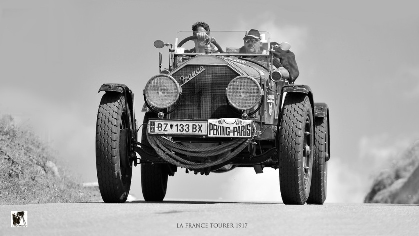 1917 American La France Tourer 1917 Peking to Paris Ennstal-Classic