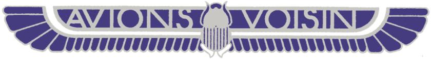 1919-39 Avions Voisin logo