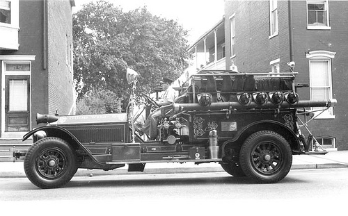 1919 American LaFrance - Goodwill Fire Co. No. 5 - York PA