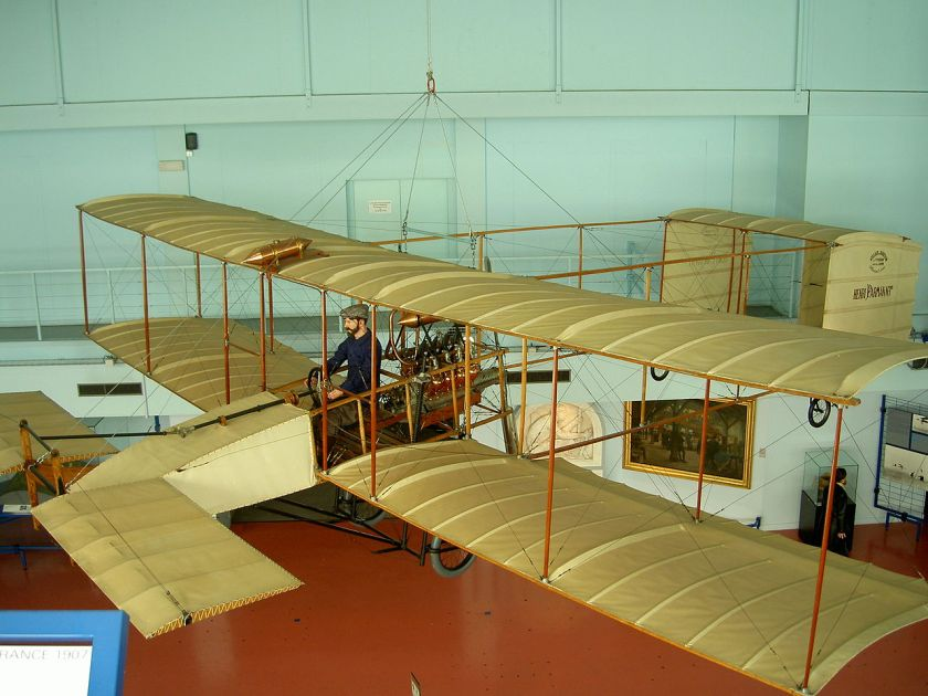 1919 Avion Voisin de l'avion ayant parcouru