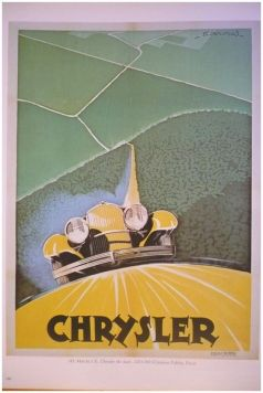 1920's Chrysler's ad