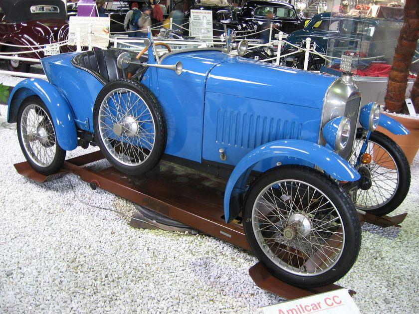 1921 Amilcar CC racecar