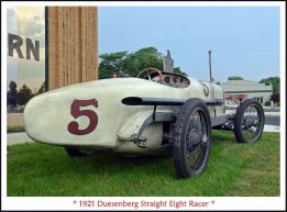 1921 Duesenberg Straight Eight Racer 1