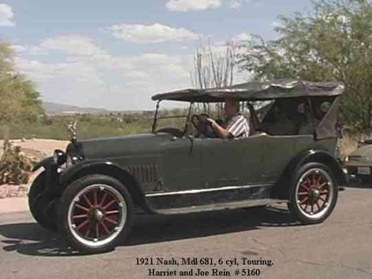 1921 Nash, Model 681, 5 passenger Touring