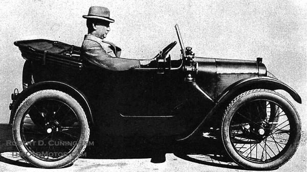 1922 Austin Seven prototype By Robert D. Cunningham
