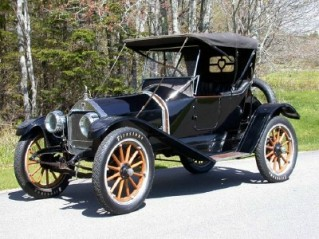 1922 Nash Coupe Automobile
