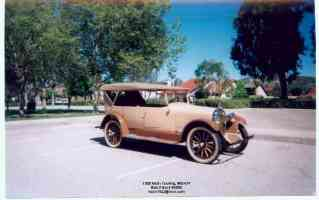 1922 Nash, Model 691, 5 passenger, 4 Door Touring, 6 Cyl