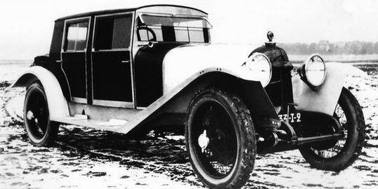 1923-28 Avions Voisin C5 Sport Saloon