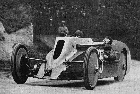 1923 A V C6 Automobiles Avions Voisin - 1923 Gaillon Hilclimb