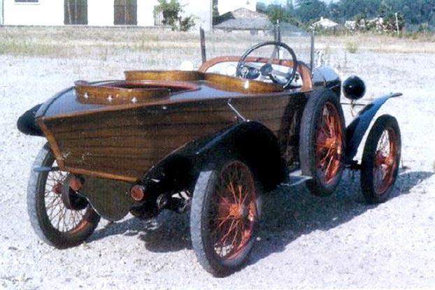 1923 Amilcar C4 skiff