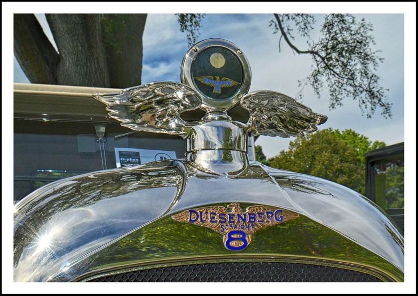 1923 Duesenberg Model A Winged Motometer a