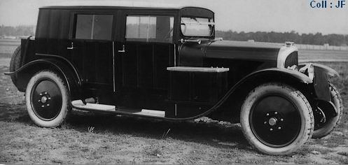 1923 Voisin Type C3L Limousine a