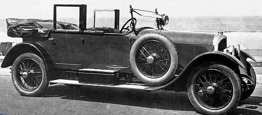 1923 Voisin Type C3L Limousine b