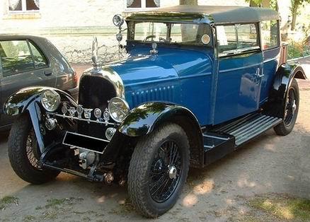 1924 Avions Voisin C7 Bira Baby Blue