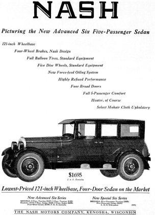 1924 Nash Cars -Ad