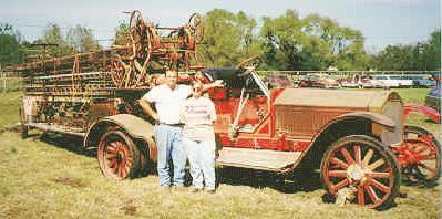 1925 american lafrance firetruck KI