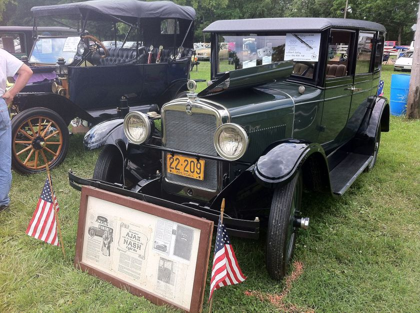 1926 Ajax sedan built by nash