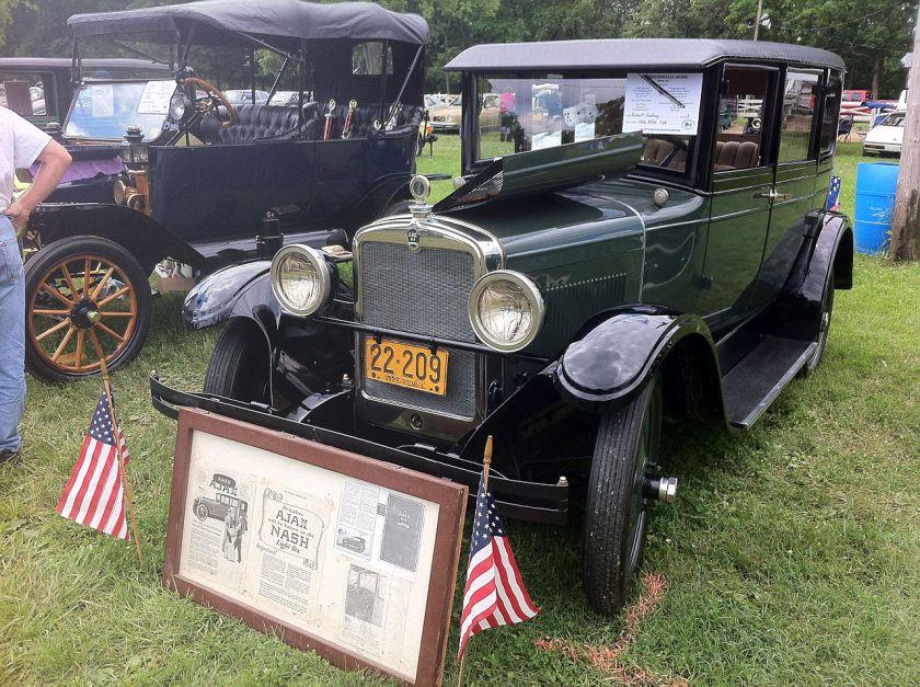1926 Ajax sedan built by nash