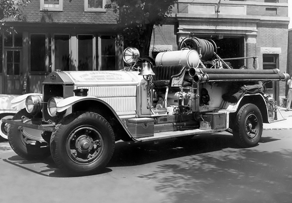 1926 american lafrance 100 series b