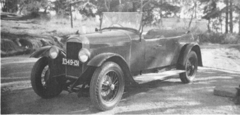 1926 Amilcar E otherwise known as the 14-60 Amilcar tourer