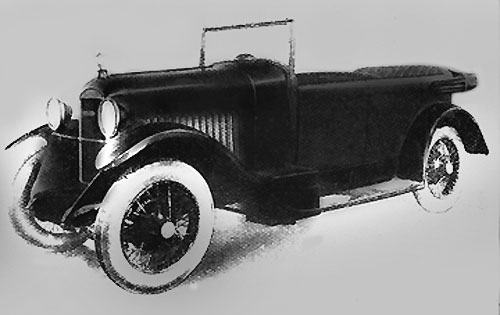 1926 Amilcar type G 7 CV