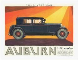1926 AUBURN Brougham 8.88