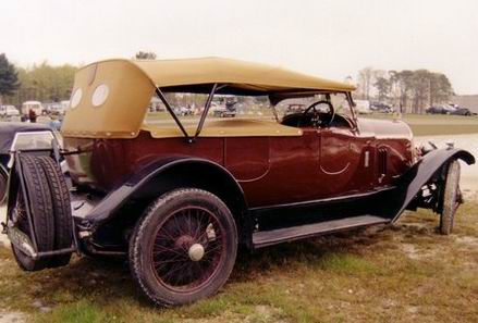 1926 Avion Voisin C3 L torpedo, bodied by Chevalier a